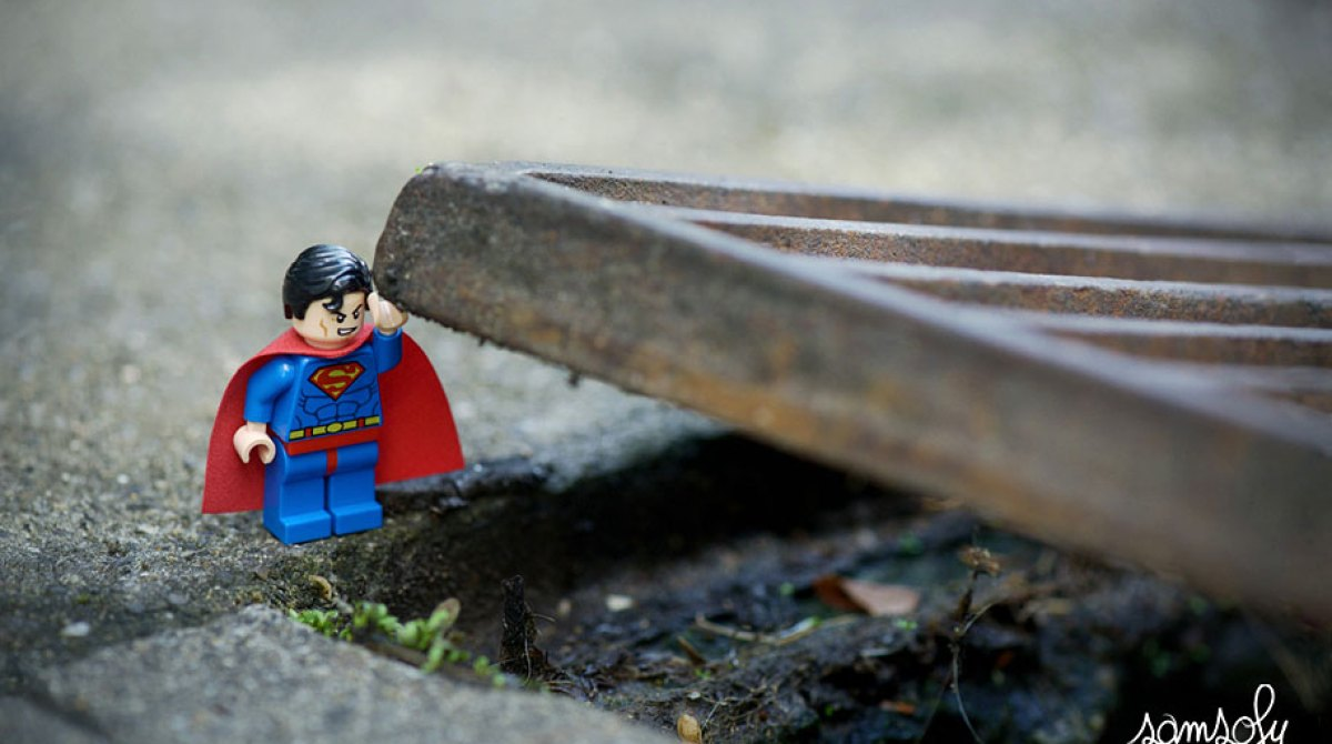 Incredibly Charming Lego Minifigs Interact with the Real World