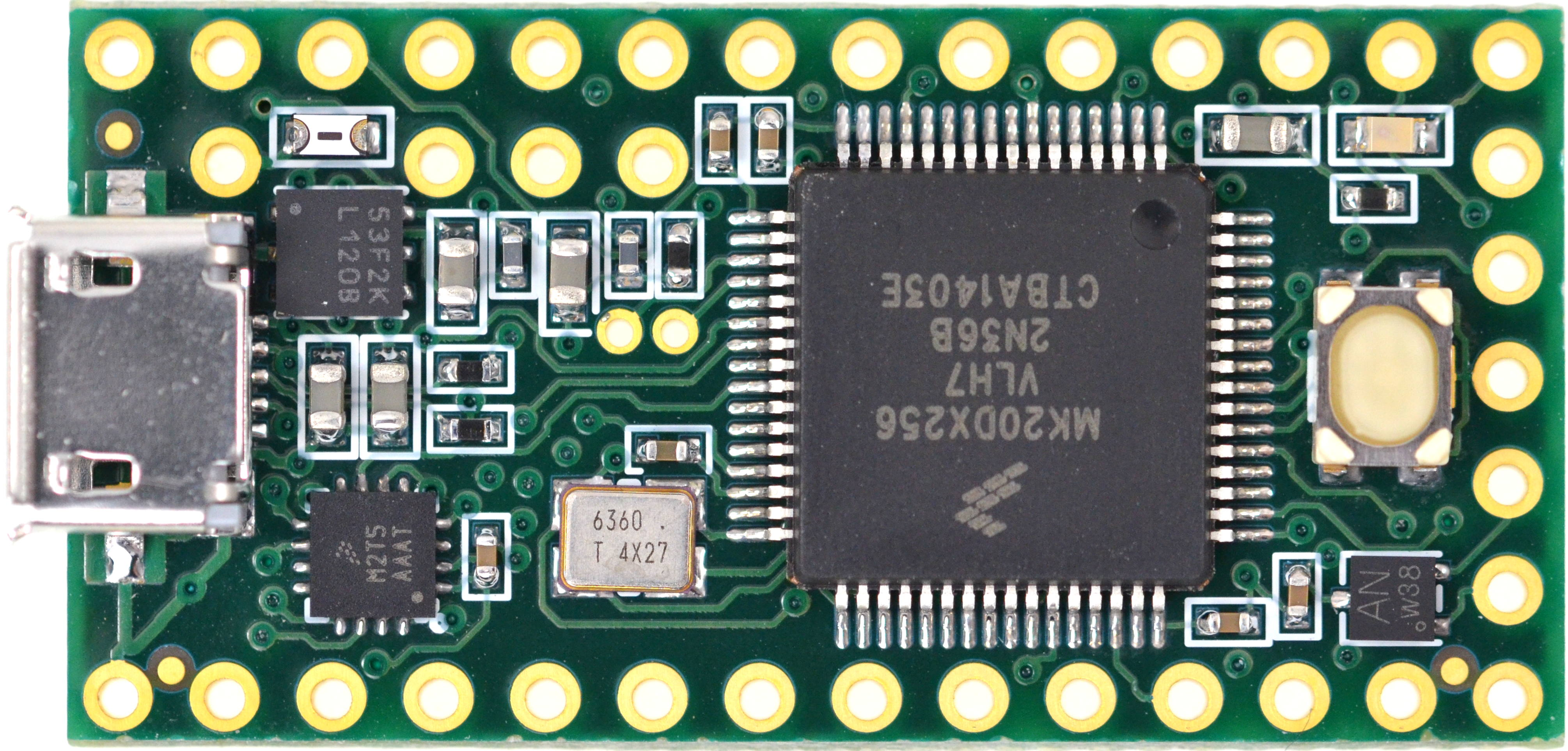 Teensy Beefs Up Tiny Dev Board with New Version | Make: