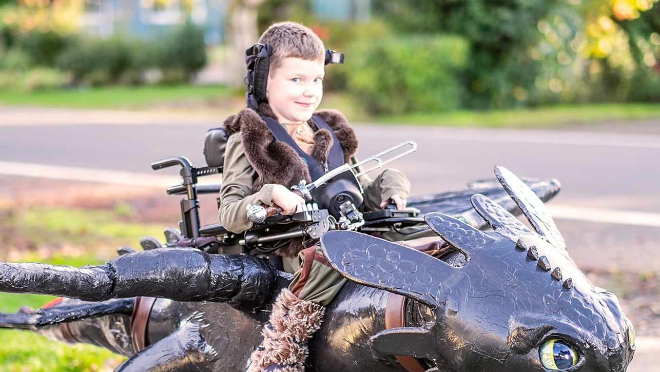 Creating Epic Halloween Costumes for Kids Who Use Wheelchairs
