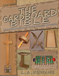 The first edition of The Cardboard Bible DIY craft book
