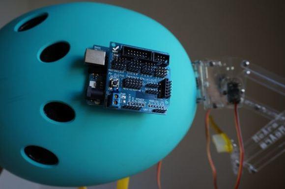 Arduino on Helmet