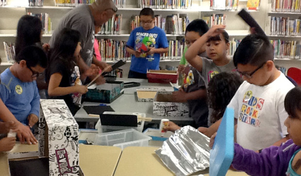 Guadalupe Branch Library has been a pioneer in running an after-school Maker Camp in Arizona.