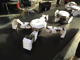 Zoobotics cardboard crawler