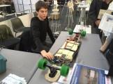 DIY Electric Longboard from a student at Berufskolleg Rheine.