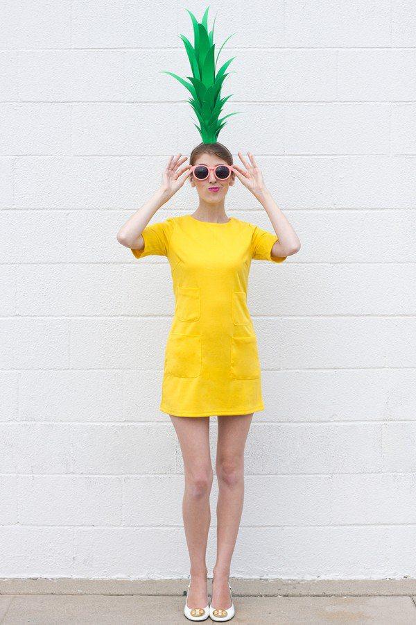 diy-pineapple-costume