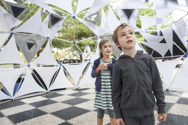 The Kaleidodome was fascinating. (photo: Becca Henry)