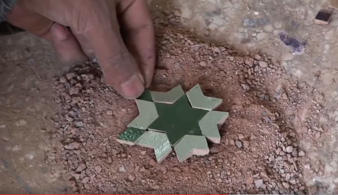 Watch Intricate Moroccan Tile Mosaics Shaped by Hand