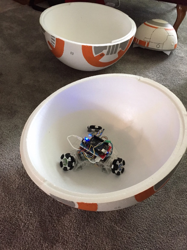 BB-8 Foam Spheres