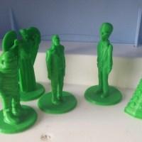 Doctor Who miniatures.Photo: Andrew Terranova