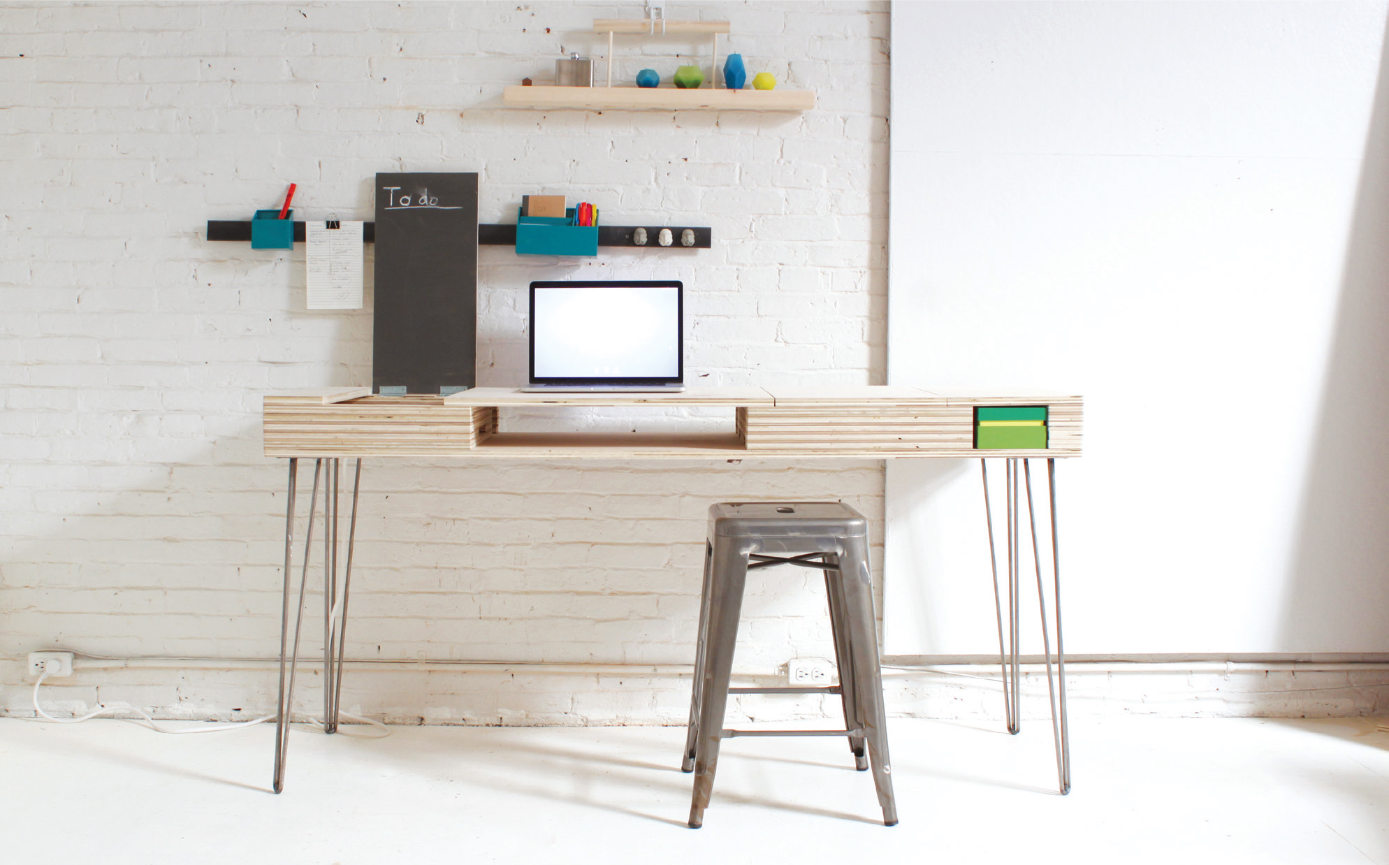Amazing Build A Stylish Modern Desk With Flip Up Storage Make Pdpeps Interior Chair Design Pdpepsorg