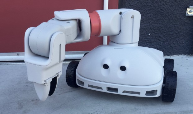 The UpDroid UP1 is a sub-$1,000, nine-pound robot development platform supports ROS.