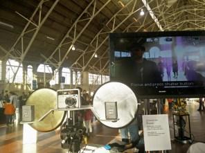 Robot paparazzi time!