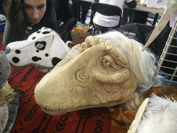 Interesting, beautiful, strange masks.