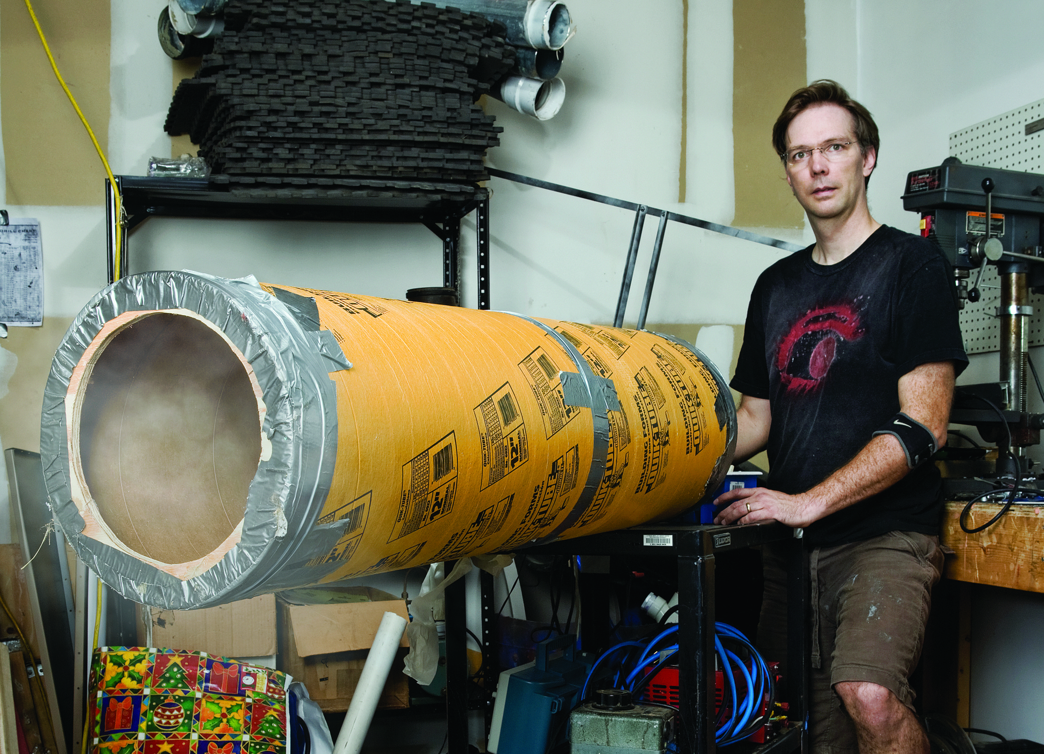 Build a Simple Vortex Cannon, Then Upgrade with a Subwoofer   Make: