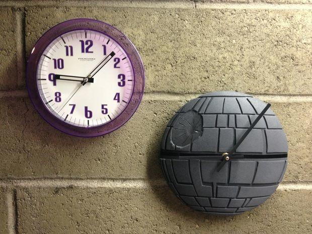death star clock