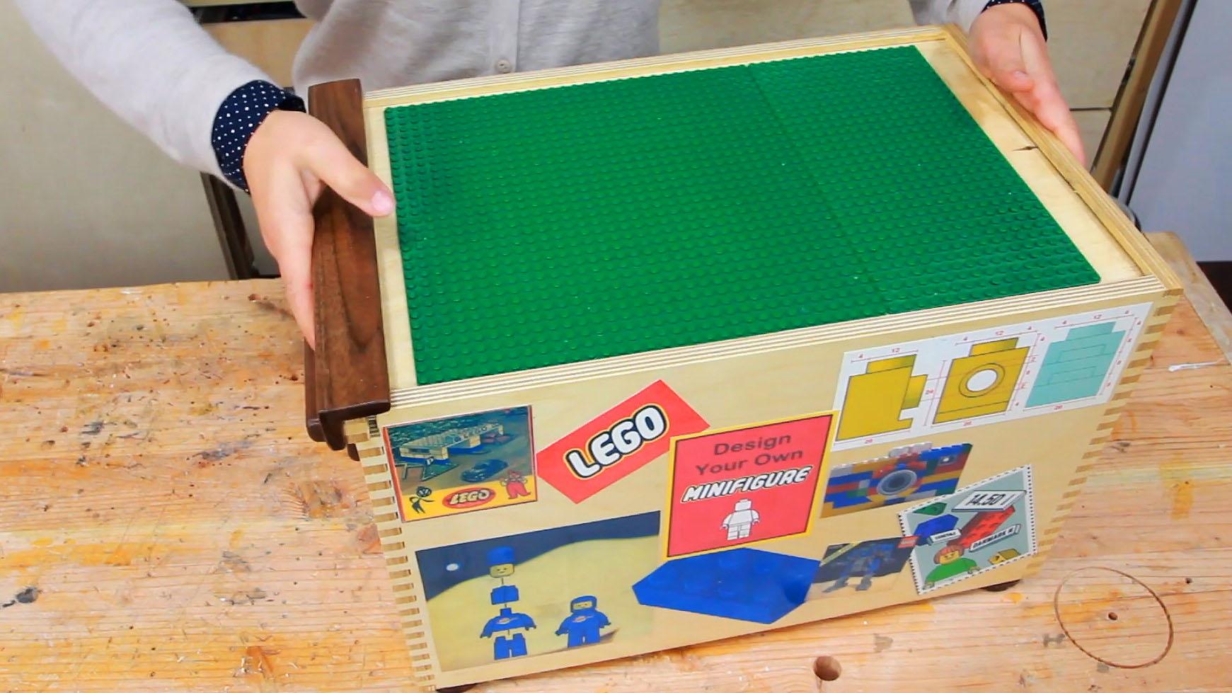 Darbin Orvar: Building a Storage Box for Lego