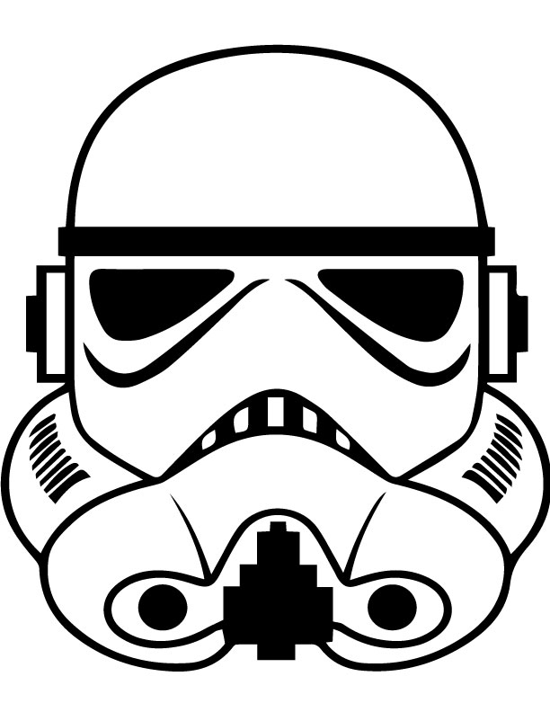 Stormtrooper Helmet Outline