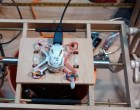 Reuse the Guts of a Cheap Quadcopter to Make a Mini Strandbeest