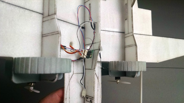 Adding X-Wing Electronics