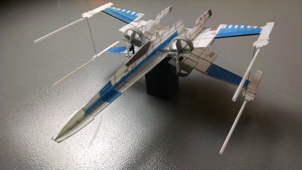 X-Wing Assembled