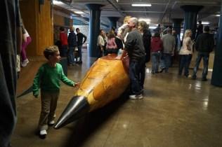 Yep, that's a giant pencil