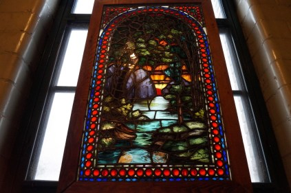 Stunning stained glass