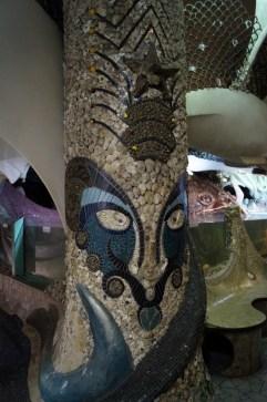 Multi-material mosaic