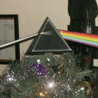 Pink Floyd Prism Christmas Tree Star