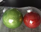 Amazingly Quick and Easy Glitter Ornaments