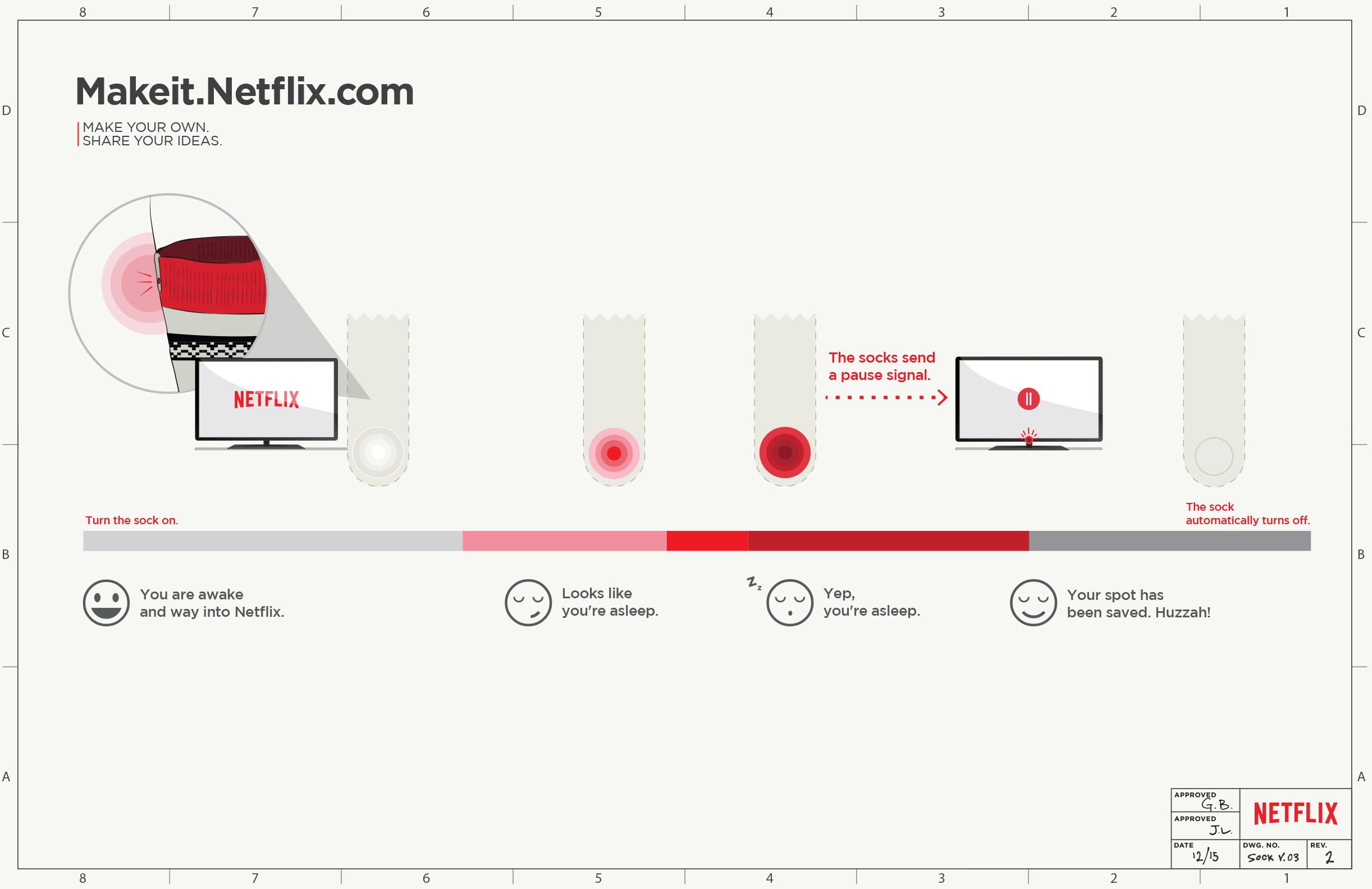 Make Some Show-Stopping Netflix Socks | Make: