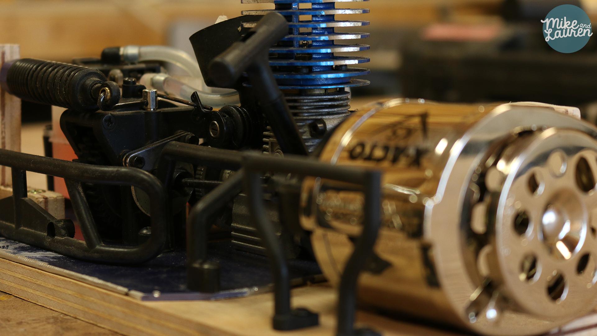 Turbocharge a Pencil Sharpener with an R/C Car Engine