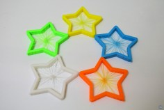 Star Burst Christmas Ornament