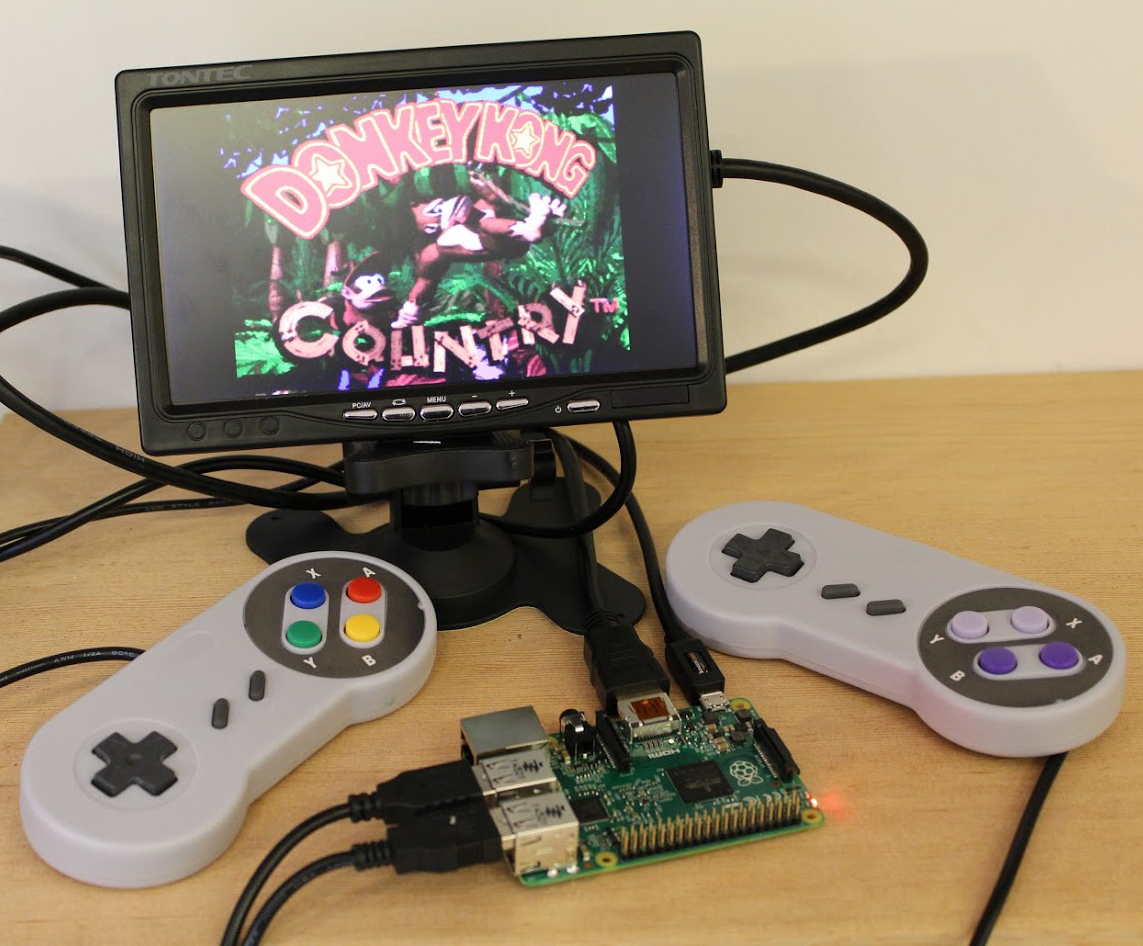 c1bcc8f13e52a Build a Retro Gaming Console with Raspberry Pi