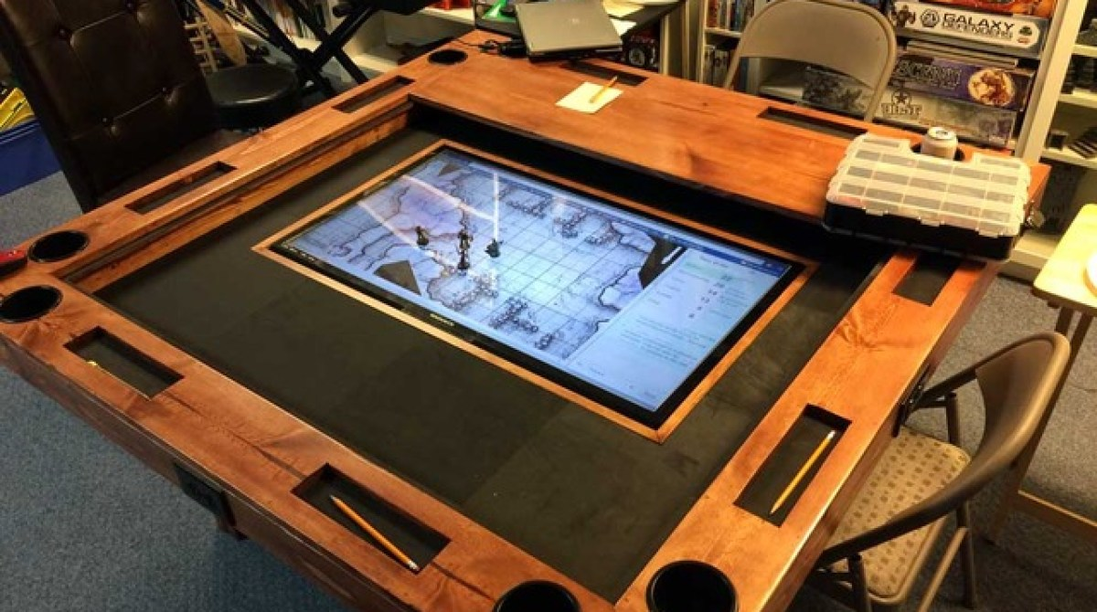 How To Build A High End Gaming Table For As Little 150 Make Hot Wiring Games Article Featured Image