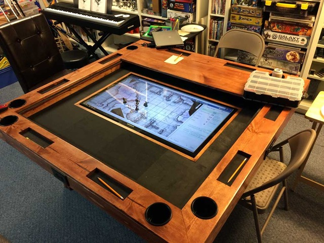 How To Build A HighEnd Gaming Table For As Little As 40 Make Extraordinary Wooden Gaming Table