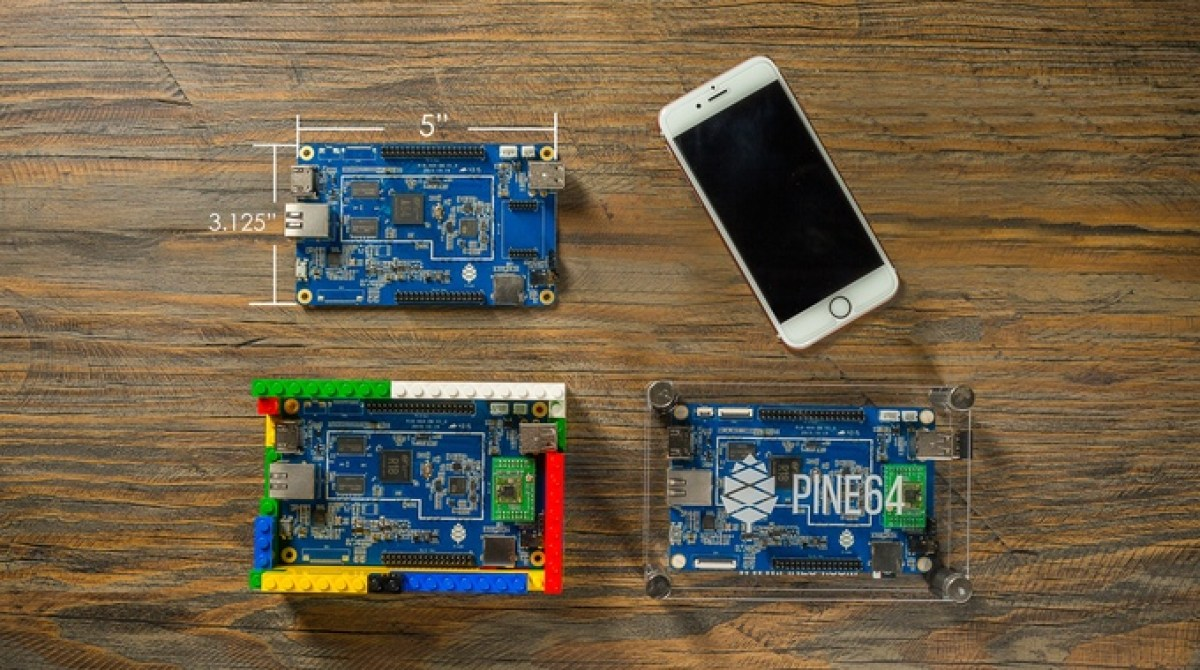 The $15 PINE64 Just Launched on Kickstarter, and it's Already Funded