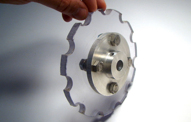 Assembled Sprocket and Hub
