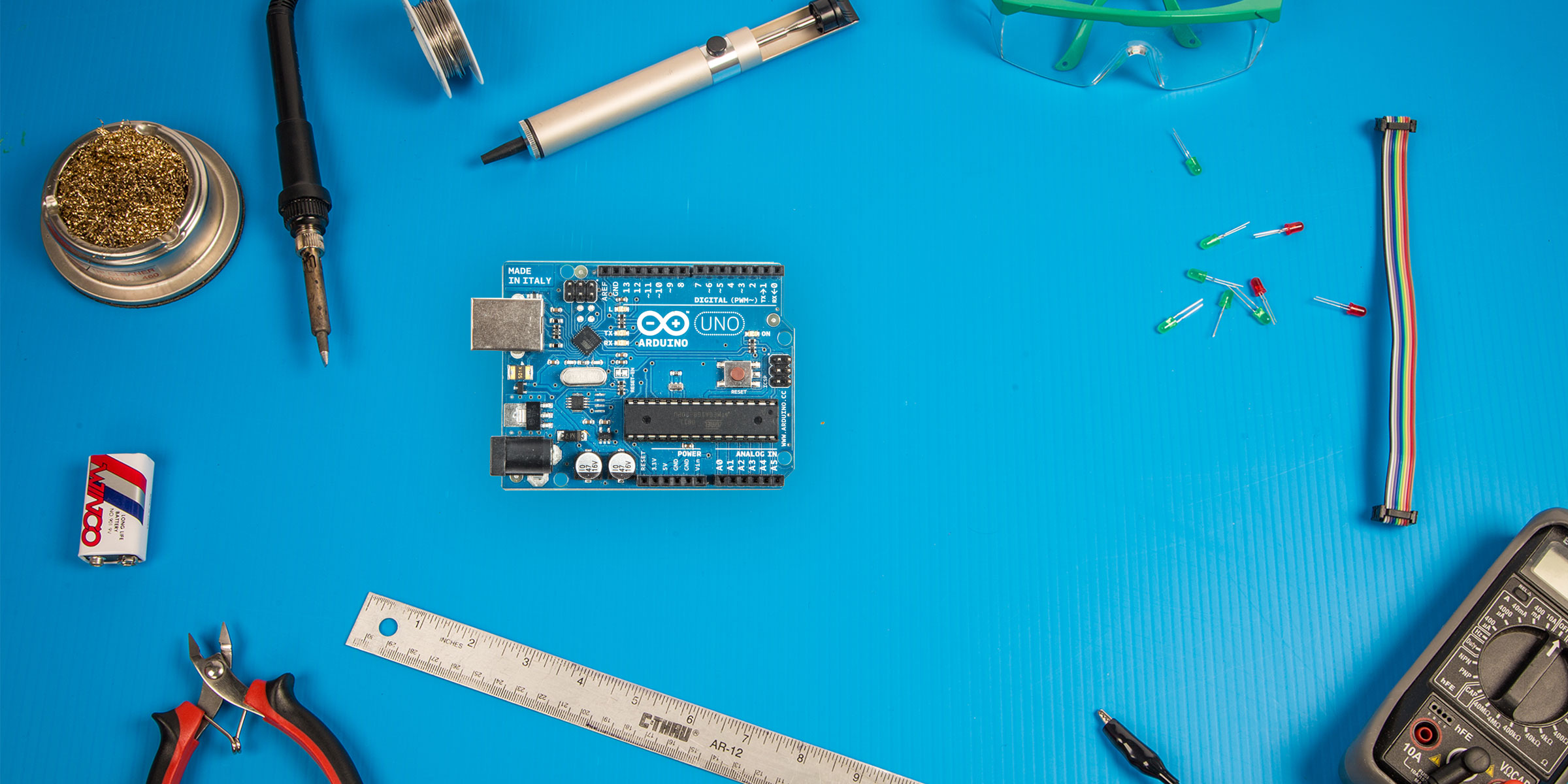 Arduino Uno Make Diy Projects And Ideas For Makers Digital Electronic With Circuit