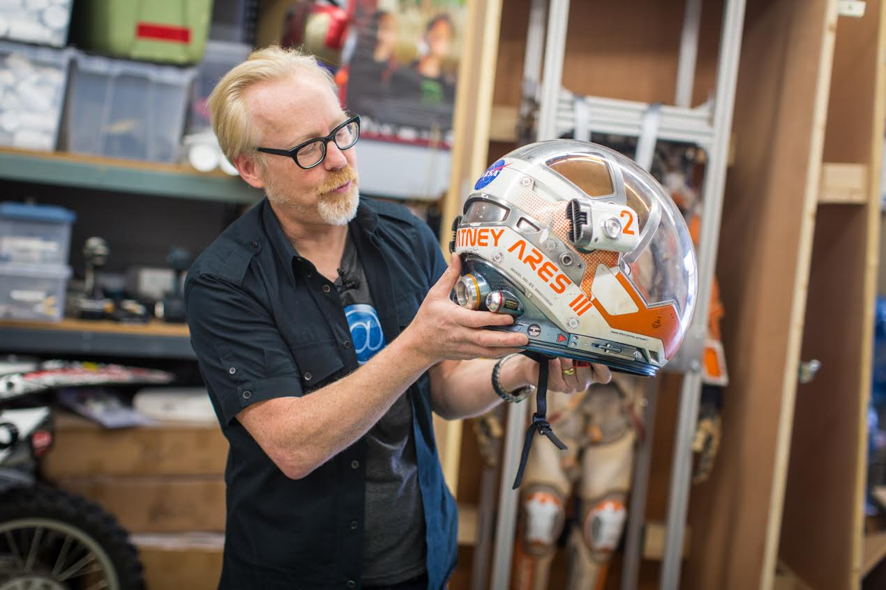 Geek Out with Adam Savage Over The Martian's Space Suit
