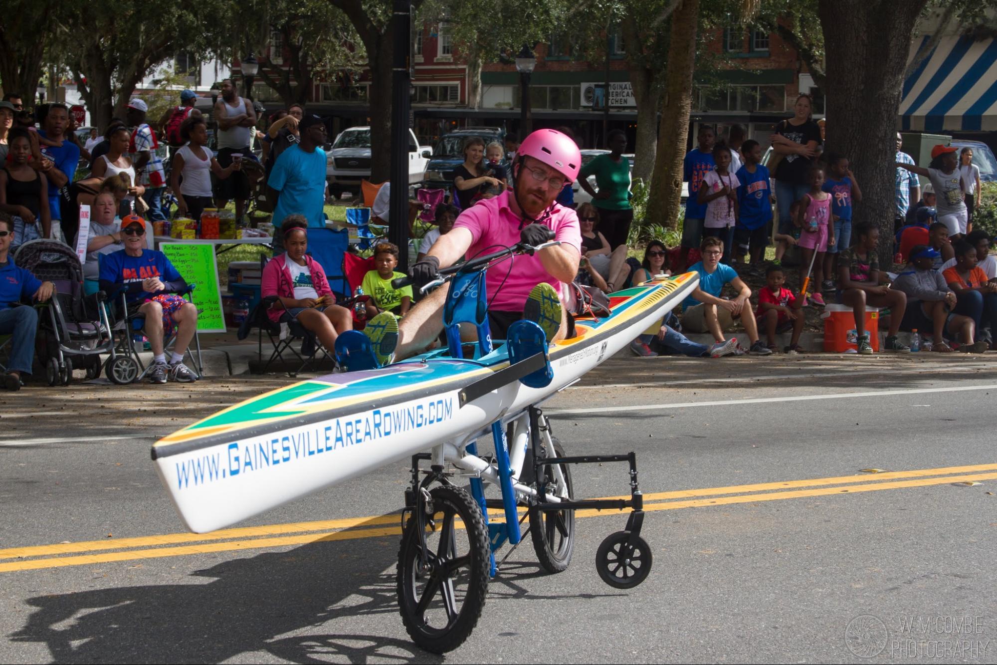 How We Built a BikeBoat