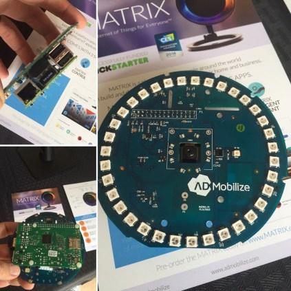 MATRIX IOT platform dev kit (as a Raspberry Pi HAT)