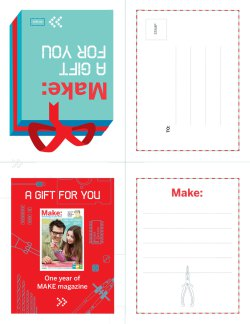 Click to download the MAKE Gift Card.