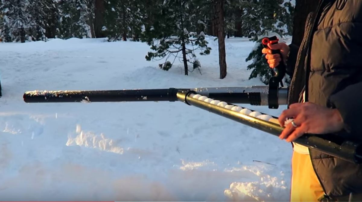 Upgrade Your Winter Arsenal with an Automatic Snowball Launcher