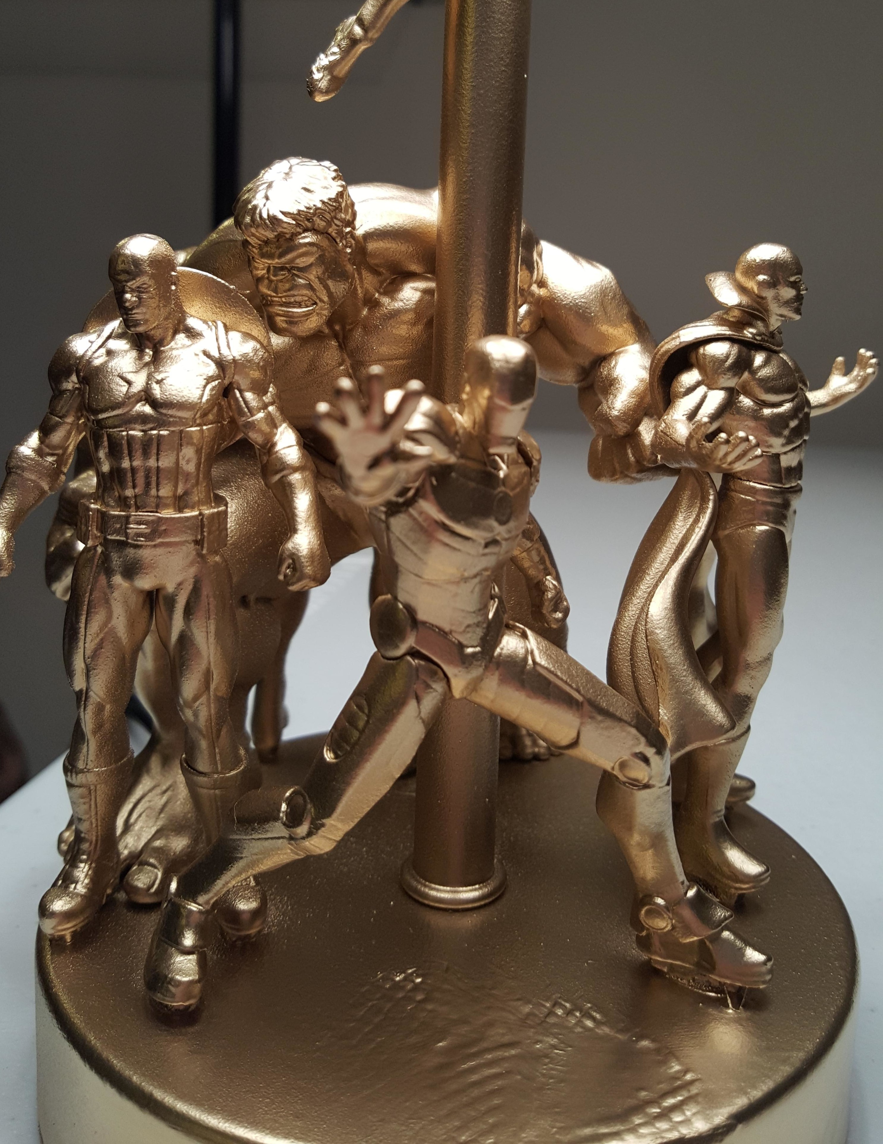 How to Make An Action Figure Desk Lamp