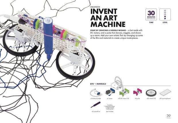 LittleBits Art Machine