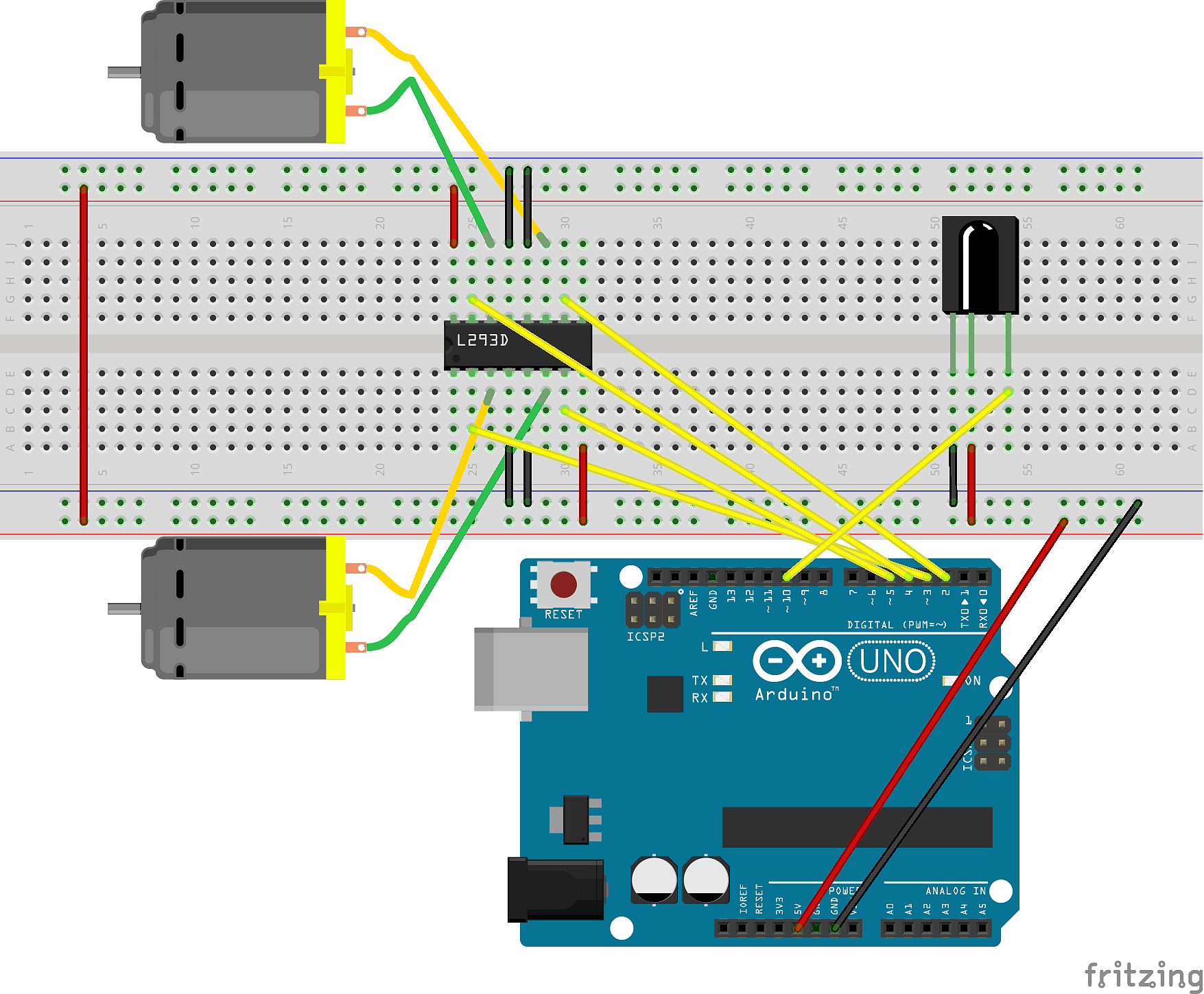 Strap A Robot To Your Face Expressions Are Now Controlled By How Build Electronic Candle Blow Out Schematic Step 2 Install The Irlib Library Into Arduino Environment Well Be Using Interact With Vs838 Or Equivalent Ir Receiver