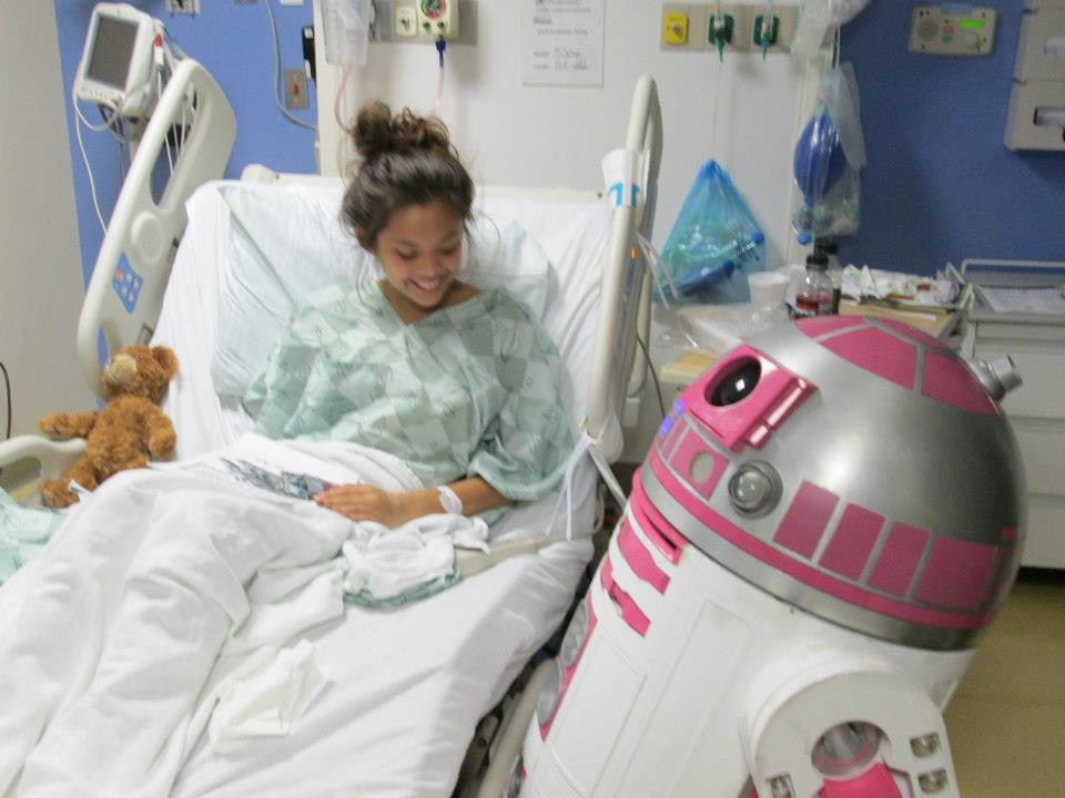 When Making Touches Lives: The Story of the R2-KT Droid