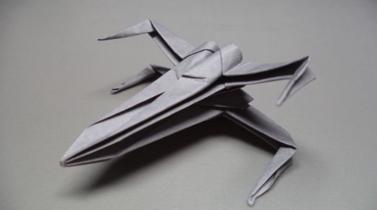 How to Make X-Wing Origami