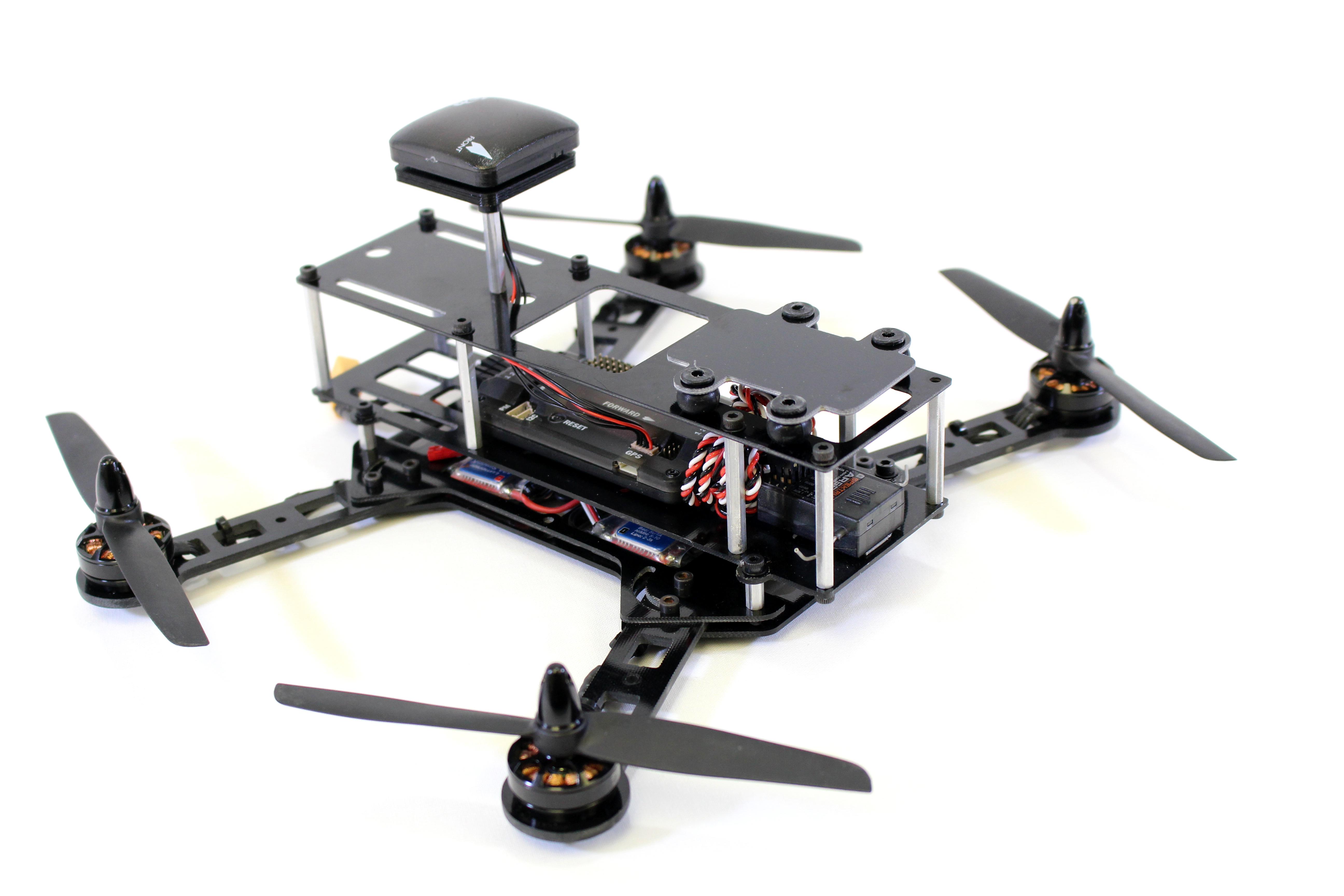 Build an FPV-Style Quadcopter with a 3D Printed Frame | Make:
