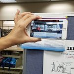 IEEE showed off its Augmented Reality offerings at the Piscataway Public Library. Photo credit: Sandra Roberts